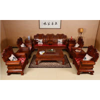 供应阅梨沙发123六件套刺猬紫檀客厅家具