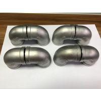 贵州304精密铸造不锈钢弯头 DN40
