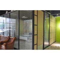 专业安装团队陕西博尔装饰供应办公高隔断|玻璃隔墙(BOER-84-100S-12)
