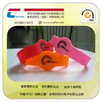 RFID硅胶腕带厂,防水,耐高温,游泳馆使用