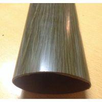 热转印木纹不锈钢焊管 装饰用木纹面不锈钢扶手管