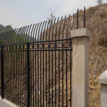 方管锌钢护栏 热镀锌静电喷涂护栏 养殖围栏网厂家