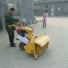 圣鲁13马力汽油扫雪机 毛刷式清雪机