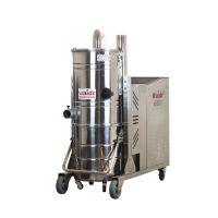 黄豆厂用吸尘器 吸地面黄豆颗粒用威德尔三相电工业级吸尘器