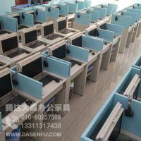 电动升降屏风电脑桌考试专用桌电教室培训桌定制采购厂家价格