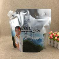 供应吸嘴式铝箔自立袋 5L纯净水矿物质水吸嘴袋不透光饮料袋