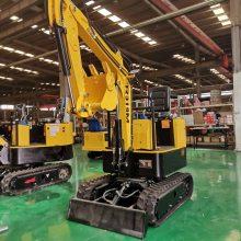 天德立TDLW-10微型挖掘机 液压式柴油挖土机 大棚挖土机 挖管道挖掘机