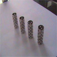 304不锈钢圆孔网过滤筒 钢板滤芯骨架 多孔板焊接滤管