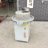振德机械 直径40型家用米浆石磨豆浆机 花生酱肠粉磨 香油石磨机 价格