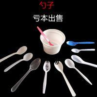 一次性勺子批发/肯德基大白勺/塑料白勺/pp彩勺/透明黑色大勺/103小勺|瑞翔塑业