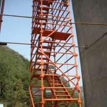 目前安全爬梯 质量施工梯价格优选通达质优价低