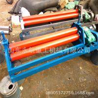 三辊小型卷板机价格 铁皮卷板机型号 机械式卷板机厂家批发
