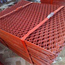 周口工地高空脚手架平台踏板应用手册——0.8*1米菱形钢笆片常规尺寸热门订购