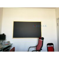 惠州实木框黑板M丽江磁性黑板挂式家用M咖啡馆黑板粉笔书写