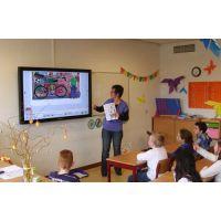 70寸/75寸/84寸/86寸电子白板 幼儿教学一体机 红外触摸一体机 教育电子白板