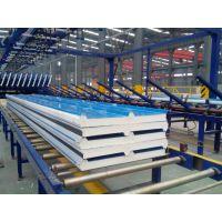 河北聚氨酯彩钢复合板厂家聚氨酯封边岩棉复合板宝润达