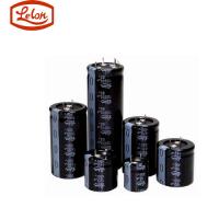Lelon台湾立隆RGA101M1VBK-0611G铝质电解电容器