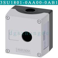 3SU1801-0AA00-0AB1西门子3SU18010AA000AB1灰色1位空按钮盒