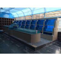铂金服务淮安定做鱼缸价格长期优惠便宜淮安大鱼缸设计施工13218852396