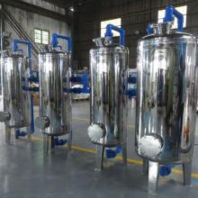 华兰达除铁锰过滤器解决广西贵港饮料厂、食品厂的铁锰超标等问题