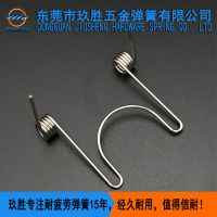 玖胜【厂家直销】扭转弹簧 扭转弹簧定制厂家 不锈钢线弹簧