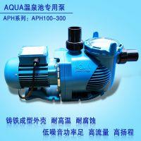 温泉池循环过滤泵 推荐选购AQUA爱克水泵【铸铁材质 性价比高】