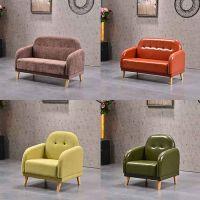 定制 现代简约休闲单人沙发拉扣布艺沙发厂家直销量大从优