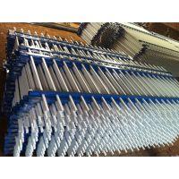 JL-010锌钢护栏19立管40横管50立柱,佛山新钢护栏、隔离栏多少钱一米