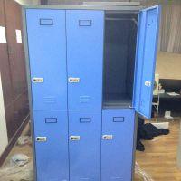宁波艾鼎厂家直销GYG-002钢制四门更衣柜 宿舍储物柜 时尚美观 加厚钢板