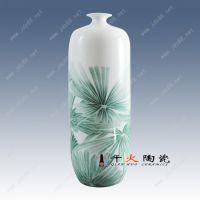 景德镇手绘热销陶瓷礼品花瓶厂家千火陶瓷