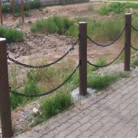 水泥建筑护栏桥梁安全防护护栏仿木栏杆