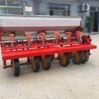 拖拉机带谷子精播机介绍 可以密集排种的草籽播种机 高粱黄豆精播机厂家