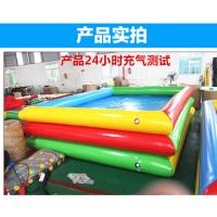 厂家直销充气沙池 儿童游乐设备沙池拓展乐园 决明子充气沙滩池特惠批发价
