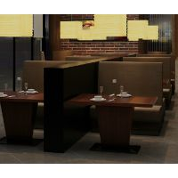 海德利实木餐桌椅组合简约现代小户型4人6人长方形饭桌