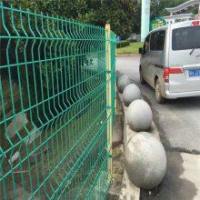 桃型柱隔离网 城市公路两侧围栏网 折弯护栏网厂家