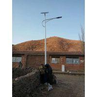 万光扶贫太阳能路灯LED30W整体热镀锌高亮普瑞灯珠新农村一事一议道路亮化电议