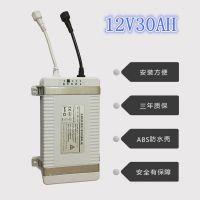 厂家安装方便无需维护12V锂电池路灯12V30AH一体化储控系统