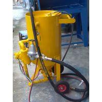 供应珠海威腾大型除锈移动式喷砂机 油罐翻新开放式喷砂机