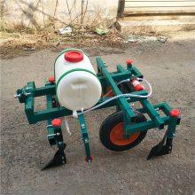 土豆播种覆膜机 拖拉机带马铃薯施肥喷药播种机 乐丰牌