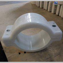 管道专用复合材质抱箍 综合管廊专用电力 管道 通讯支架 六强