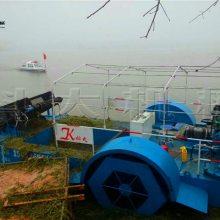 浙江水葫芦水藻打捞船 科大收集漂浮垃圾船