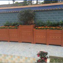 厂家供应成都组合式仿木花盆,道路花箱隔离带,仿树皮花池,仿木树围,水泥花箱
