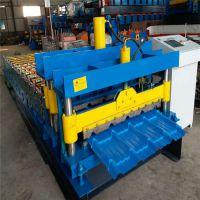 820琉璃瓦设备 彩钢屋面琉璃瓦压型机 地鑫供应