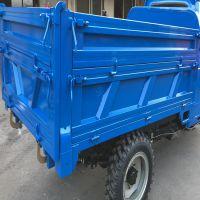拉粮食运输农用三轮车 自卸功能强的三马子 建筑工地柴油三轮车金尔惠