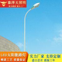 泰泽天照明LED常规市电传统路灯杆6米8米9米10米自弯臂无焊接路灯杆
