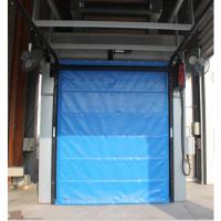 上海萨都奇冷库保温快速门价格 材质5公分保温帘片 软帘快速门运行速度可达1.8m 批发/采购量多从优