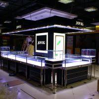 定做优质珠宝首饰展示柜 不锈钢烤漆玻璃烤漆LED展示柜时尚珠宝柜
