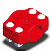 特高压管道连接器 特高压管卡(三沟槽管卡) 特高压钢管连接器 液压支架乳化液远距离供液管路系统