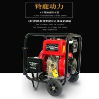 4寸柴油机排污泵铃鹿SHL40CG