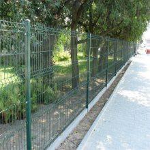 小区护栏网直销 安全防护护栏网 企业厂区围墙网
